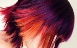 Rock Your Hair with Sunset Colors