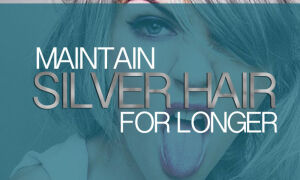 Maintain Silver Hair Longer With These Routines