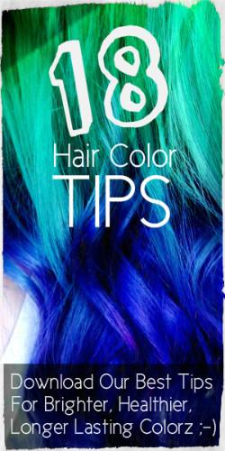 10 Ways To Remove Stubborn Blue Hair Dye