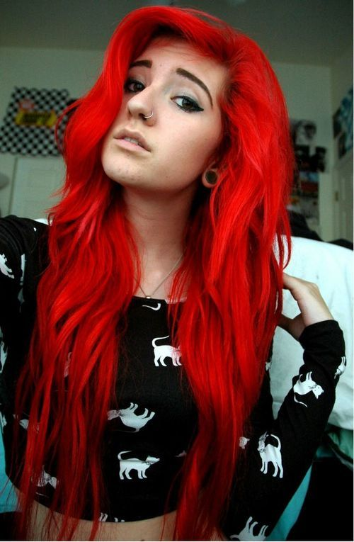 17 Hair Color Ideas For Bright Red Hair