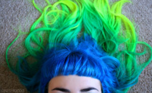 blue-green-yellow-hair