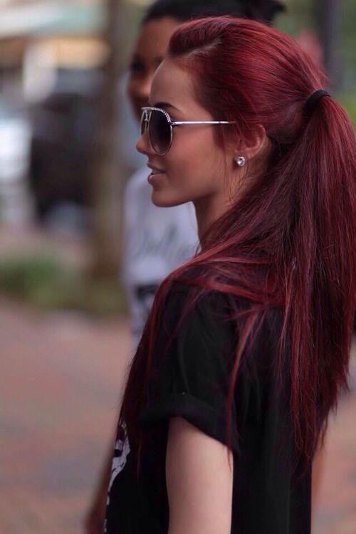 Hottest Ombre Hair Color Ideas Purple Tips Via