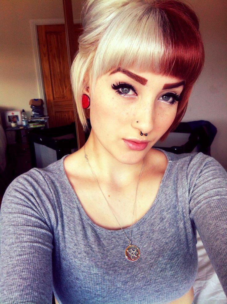 25 Women That Rocked Split Dyed Hair