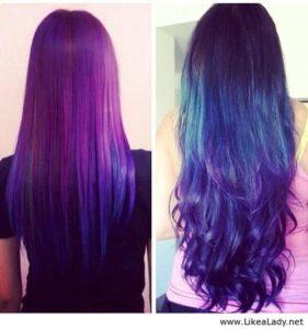 Galaxy Hair Trend